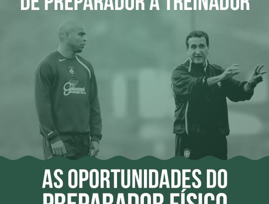 Oportunidades do Preparador Físico